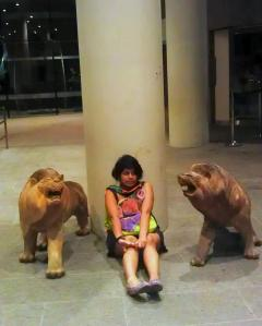 Lions and tigers and bears. Oh my@