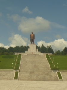 Another monument in Sariwon.